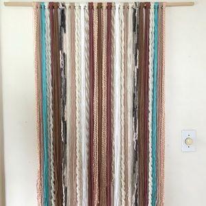 Heavenly Waters Yarn Wall Hanging Tapestry